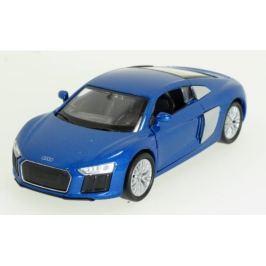 Welly - Audi R8 V10 model 1:34 modrý