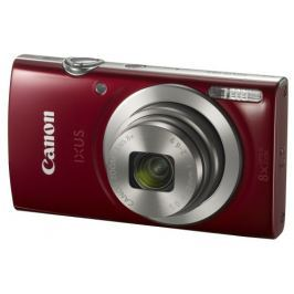 Canon Fotoaparát  IXUS 185 + orig.pouzdro, červený