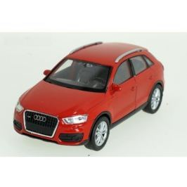 Welly - Audi Q3 model 1:34 červené
