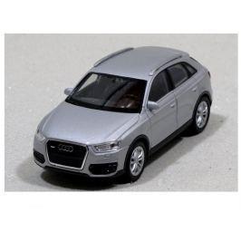 Welly - Audi Q3 model 1:34 stříbrné