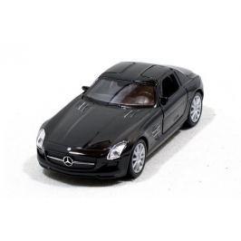 Welly - Mercedes-Benz SLS AMG model 1:34 černý