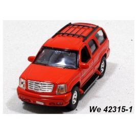 Welly - Cadillac Escalade (2002) model 1:34 červený