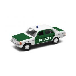 Welly - Mercedes-Benz E-Class 1:34  policie zelené