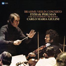 BRAHMS - PERLMAN / VIOLIN CONCERTOS LP