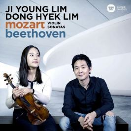 CD Ji-Young Lim / Dong-Hyek Lim : Mozart And Beethoven (Violin Sonatas)