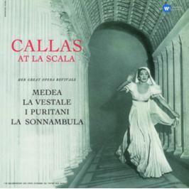 Maria Callas : Callas At La Scala (Studio Recital) LP