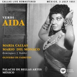 CD Verdi : Aida (Maria Callas - Mexico, 03/07/1951)