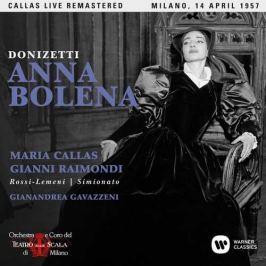 CD Donizetti : Anna Bolena (Maria Callas  - Milano, 14/04/1957)
