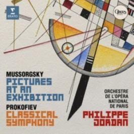 CD Mussorgsky - Prokofiev : Obrázky z výstavy - Classical Symphony
