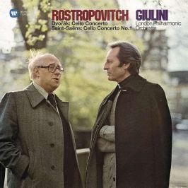 Dvořák / Sain-Saens - Rostropovich : Cello Concertos LP