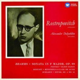 CD Brahms : Sonata in F Major, Op. 99/Popper/Elfin Dance