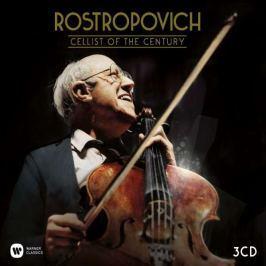CD Rostropovich : Cellist of the Century