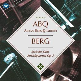 CD Alban Berg : Lyric Suite & String Quartet