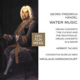 CD Handel - Harnoncourt : Water Music & Organ