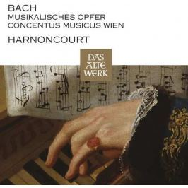 CD Bach-Harnoncourt : Musical Offering