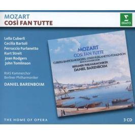 CD Mozart - Barenboim: Cosi Fan Tutte