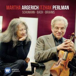 CD Schumann / Bach / Brahms - Perlman - Argerich