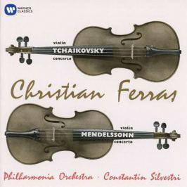 CD Tchaikovsky / Mendelssohn - Ferras : Violin Concertos