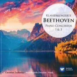 CD Ludwig van Beethoven : Piano Concertos Nos 1 & 3