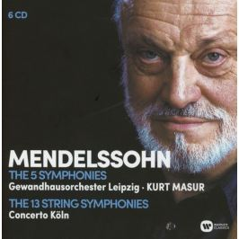 CD Felix Mendelssohn : The 5 Symphonies & The 13 String Symphonies