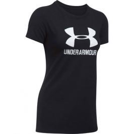 Under Armour Dámské tričko  Sportstyle Crew Black, S