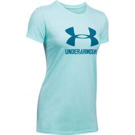 Under Armour Dámské tričko  Sportstyle Crew Blue, XS