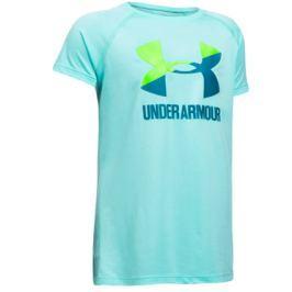 Under Armour Dětské tričko  Solid Big Logo SS Blue, S