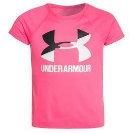 Under Armour Dětské tričko  Solid Big Logo SS Pink, S