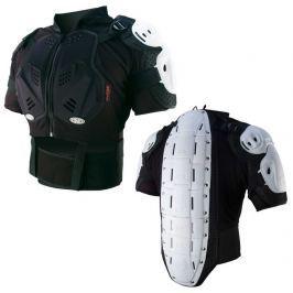 IXS SM - HAMMER JACKET oblek, chránič páteře, těla  bílý  2017