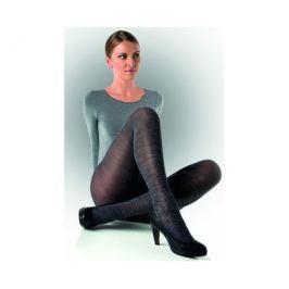 Evona Dámské punčochové kalhoty s modro-černým melírem Felicie 006, 164-108