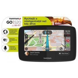 Tomtom Navigace  GO 520 World, Wi-Fi, LIFETIME mapy