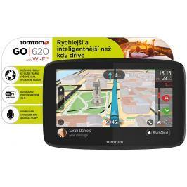 Tomtom Navigace  GO 620 World, Wi-Fi, LIFETIME mapy