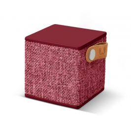 Fresh 'n Rebel FRESH ´N REBEL Rockbox Cube Fabriq Edition Bluetooth reproduktor, Ruby, rubínově