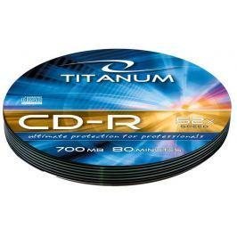 Esperanza Titanum CD-R [ Soft Pack 10 | 700MB | 52x | Silver ]