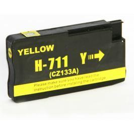 OEM Inkoust CZ132A (No.711) kompatibilní žlutý pro HP (29ml)