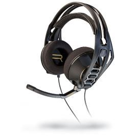 Plantronics Herní sluchátka RIG 500HD s mikrofonem, černá