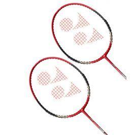 Yonex Badmintonový set 2 ks raket  Carbonex CAB-6000 N Red