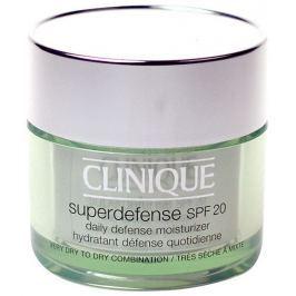 Clinique Ochranný hydratační krém pro velmi suchou až smíšenou pleť Superdefense SPF 20 (Daily Defen