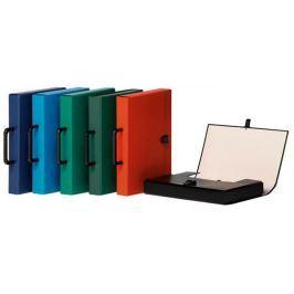 DONAU Aktovka na dokumenty, s držadlem, černá, A4, PP/karton,