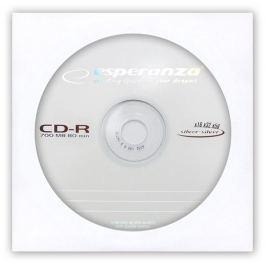 Esperanza CD-R [ obálka 1 | 700MB | 52x ] - karton 500 ks