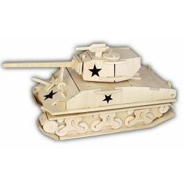 Dřevěná skládačka - Tank M4 Sherman P327