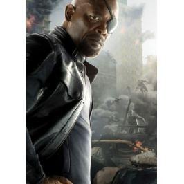 Avengers / Ultron - Nick Fury (43), kovový plakát Plechová cedule