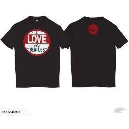 Beatles - I Love Beatles, pánské tričko M