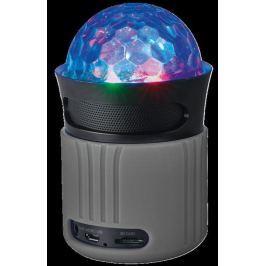 TRUST Dixxo Go Wireless Bluetooth Speaker with party lights - grey