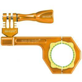 Rollei Bullbar 34 - Oranžový hliníkový držák na kolo pro kamery GoPro a ,