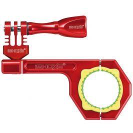 Rollei Bullbar 34 - Červený hliníkový držák na kolo pro kamery GoPro a , v