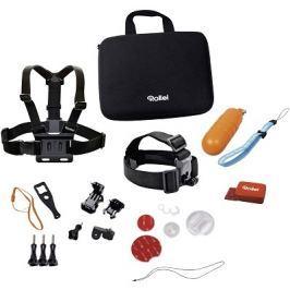 ROLLEI sada příslušenství pro vodní sporty/ 22ks pro kamery  a GoPro