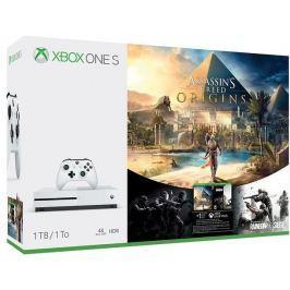 Microsoft XBOX ONE S 1 TB + Assassin's Creed: Origins + Rainbow Six: Siege