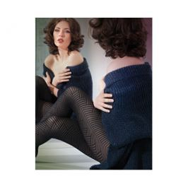 Gatta Černé punčochové kalhoty Naomi 401 wz 01 Nero, 2