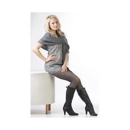 Evona Černé dámské punčochové kalhoty Melange-999, 164-108